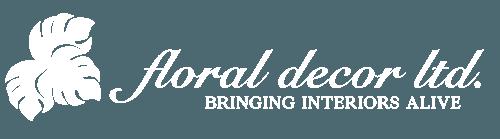 Floral Decor Flowers Logo
